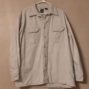 Men's GAP Button Down Jacket  Size XL